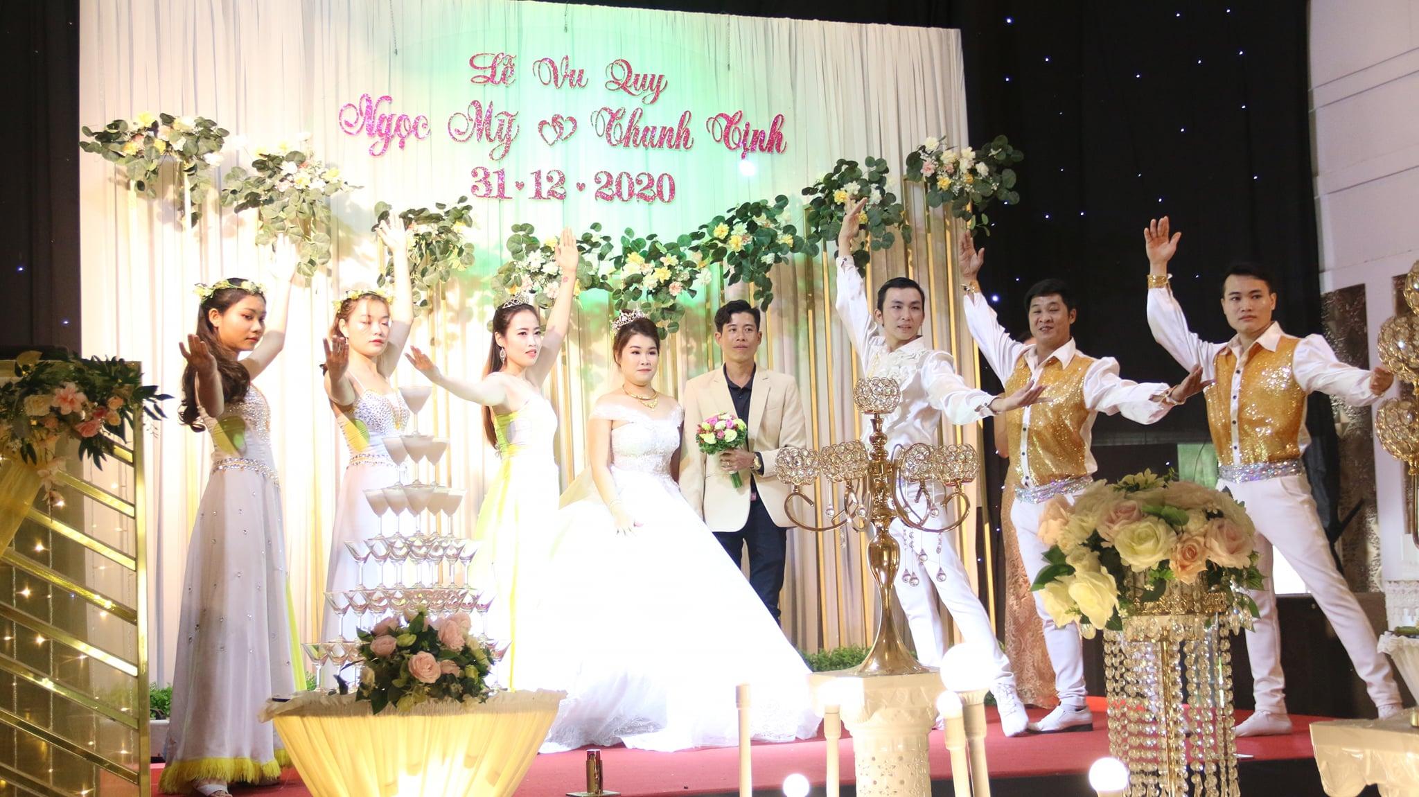 Cô dâu Ngọc Mỹ  & Chú rể Thanh Tịnh